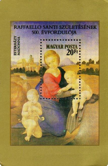 Magyar Posta (filatélia) - 1984