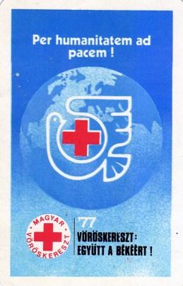 Magyar Vöröskereszt - 1977