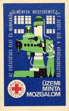 Magyar Vöröskereszt (Üzemi mintamozgalom) - 1968