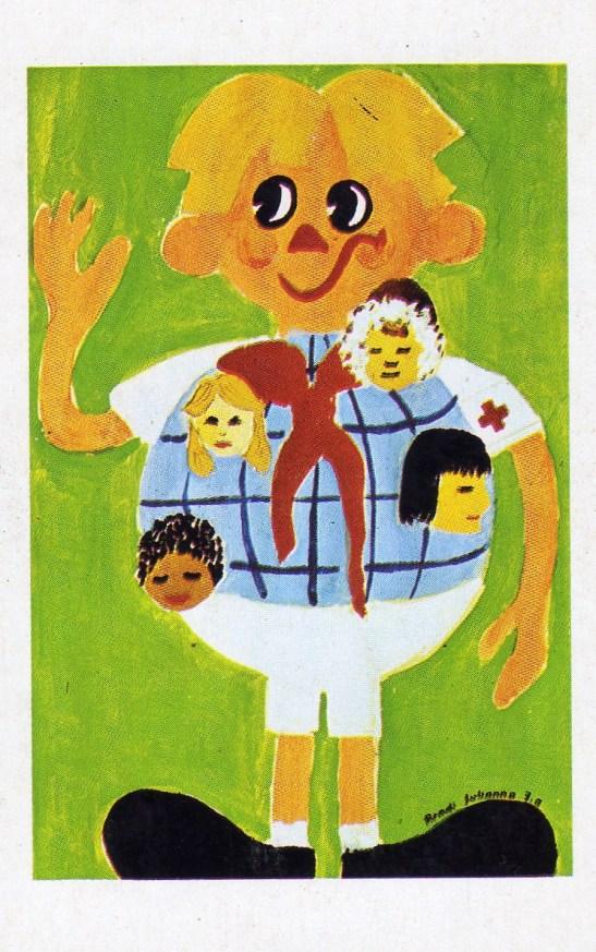Magyar Vöröskereszt (május 8, Vöröskereszt világnapja) - 1979