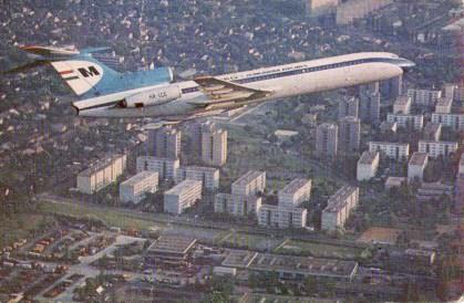 MALÉV (Tupoljev Budapest felett) - 1983