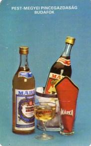 MÁRKA - Pest-Megyei Pincegazdaság, Budafok - 1985