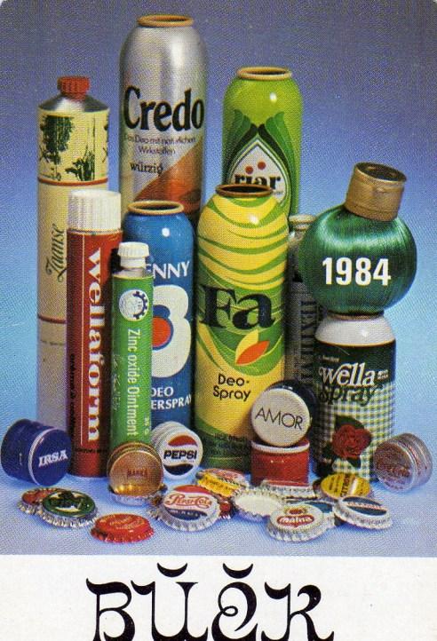 Mátravidéki Fémművek (fém csomagolóeszközök gyára) - 1984