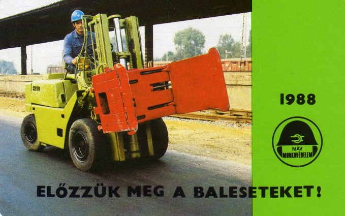 MÁV (munkavédelem) - 1988