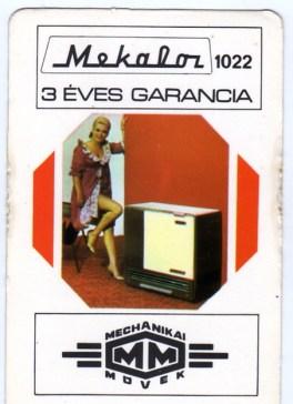 Mechanikai Művek - 1978