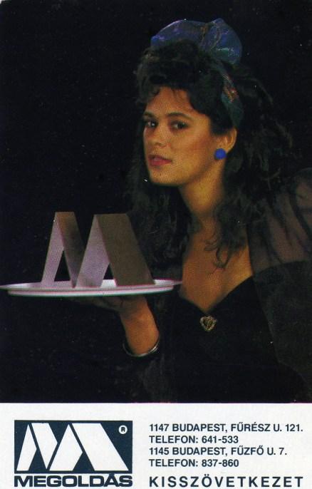 MEGOLDÁS Kisszövetkezet - 1989