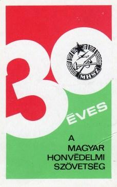 MHSZ (30 év) - 1978