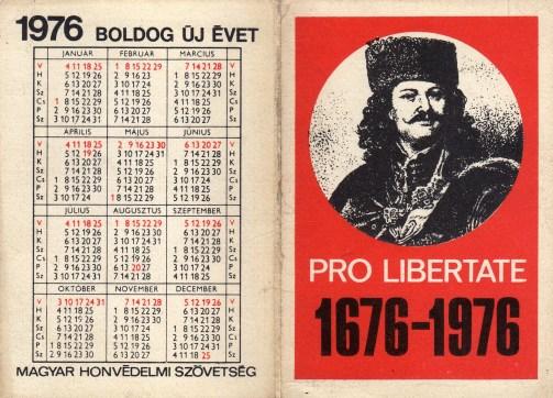 MHSZ (a) - Rákóczi évforduló - 1976