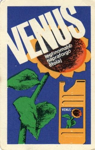 Növényolajipar (VENUS étolaj) - 1970