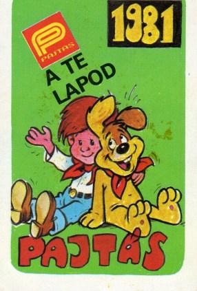 Pajtás (a MÚSZ lapja) - 1981