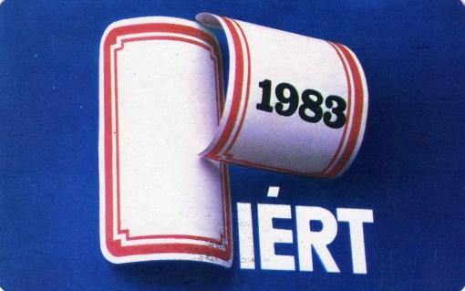 PIÉRT - 1983