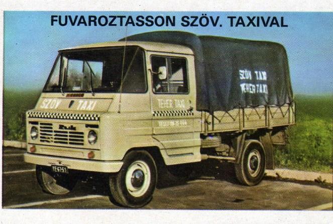 TEHERTAXI (Szolnok) - 1979