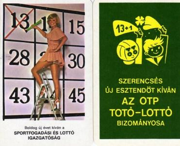 Totó-lottó - 1977