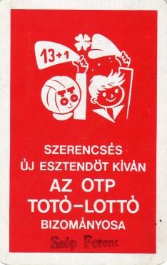 Totó-lottó (2) - 1976