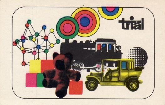 TRIÁL (sport, játék, hangszer) - 1970