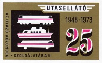 Utasellátó (25 év) - 1973