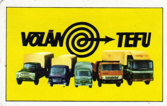VOLÁN TEFU - 1982