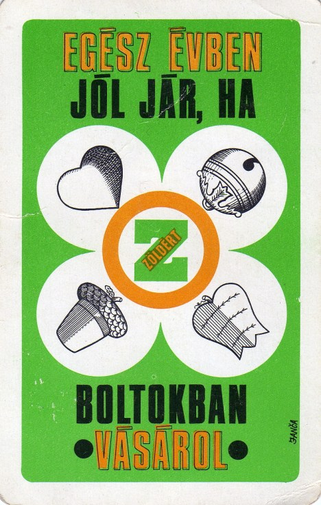 ZÖLDÉRT - 1971