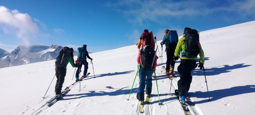 *Ski Touring Guiding in Tromsø