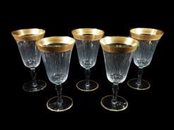 金縁ワイングラス