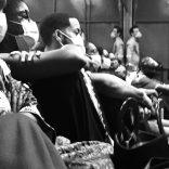 Sortie d'accueil studio ! Création « L'âme dans le miroir » de Natty Montella, regard extérieur Christian Ben Aïm. Projet porté par le CDCN Toukadanses Guyane/ Norma Claire.