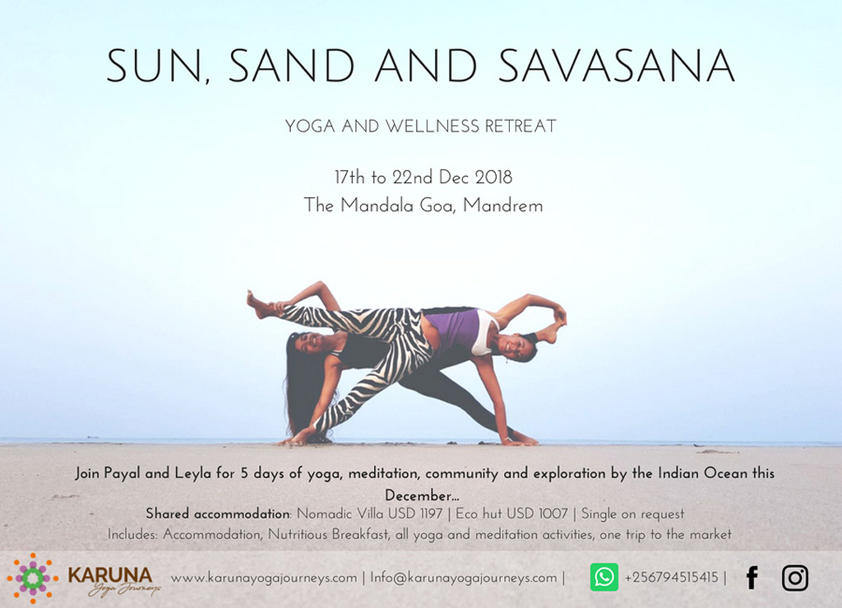 Sun, Sand & Savasana Yoga & Wellness Retreat 1