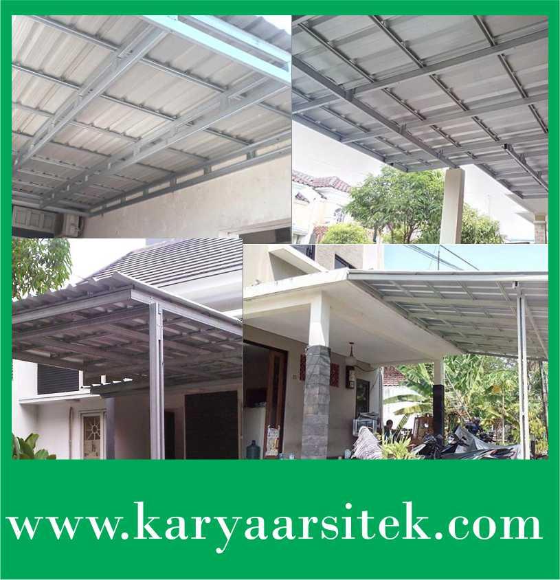 Daftar Harga Canopy Galvalum Jogja