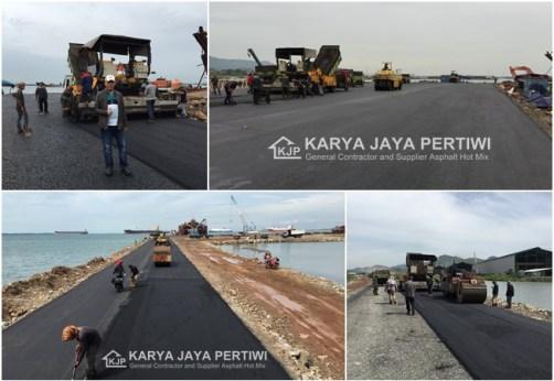 Pengaspalan Hotmix Tahap 2 Akses Pelabuhan Solor Bojonegara Serang, Jasa Pengaspalan, Jasa Perbaikan Jalan