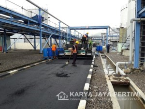 Proyek Pengaspalan Terbaru KARYA JAYA PERTIWI, Jasa Aspal Hotmix