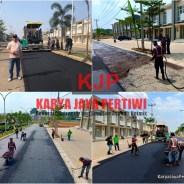 Pengaspalan Jalan Perumahan Villa Rizki Ilhami Sawangan Depok
