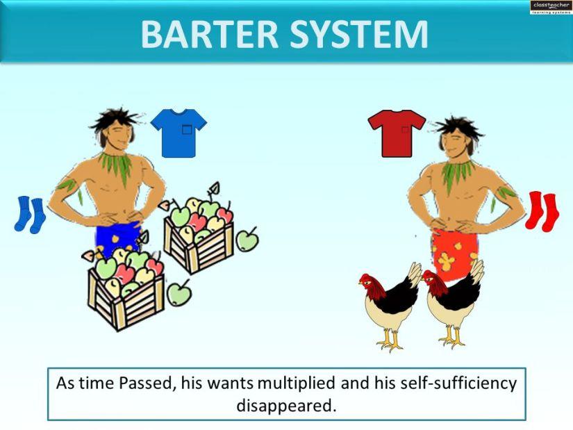 sistem barter