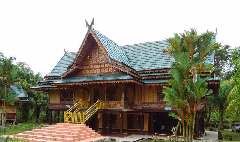 Sumberblogsport Contoh Rumah Adat Sumatera