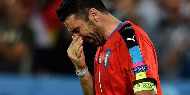 Buffon menangis