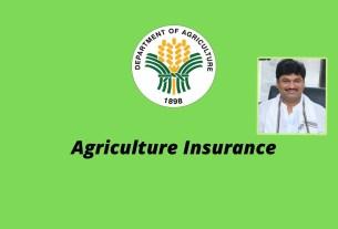 dhananjay-munde-agriculture insurance