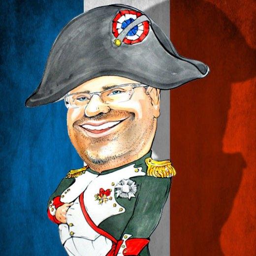 karykatura Napoleona