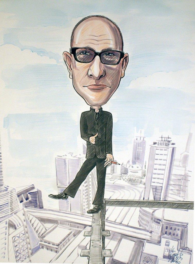 karykatura architekta