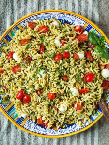 Caprese Pasta Salad by Will Cook for Friends