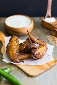 Jerk Seasoned Chicken Wings by Take Two Tapas