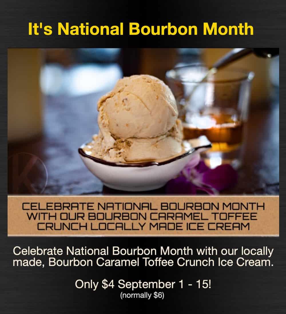 National Bourbon Month @ Kasai