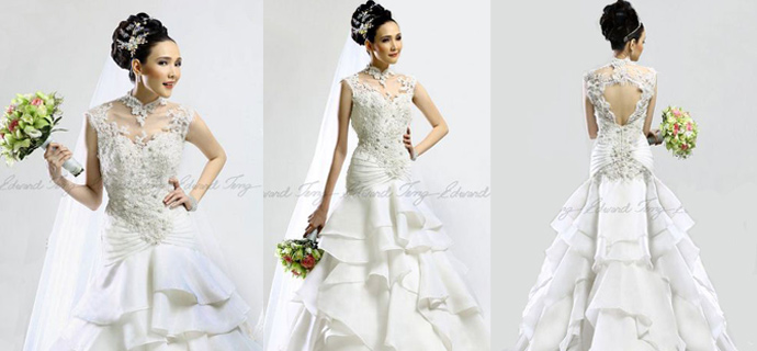 The Latest Wedding Gowns By Edward Teng