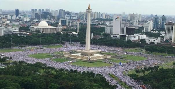 Gemuruh negeri selama Trilogy Aksi Bela Islam