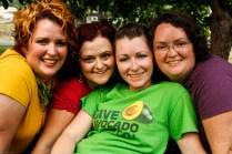 The 4 Allen Girls.