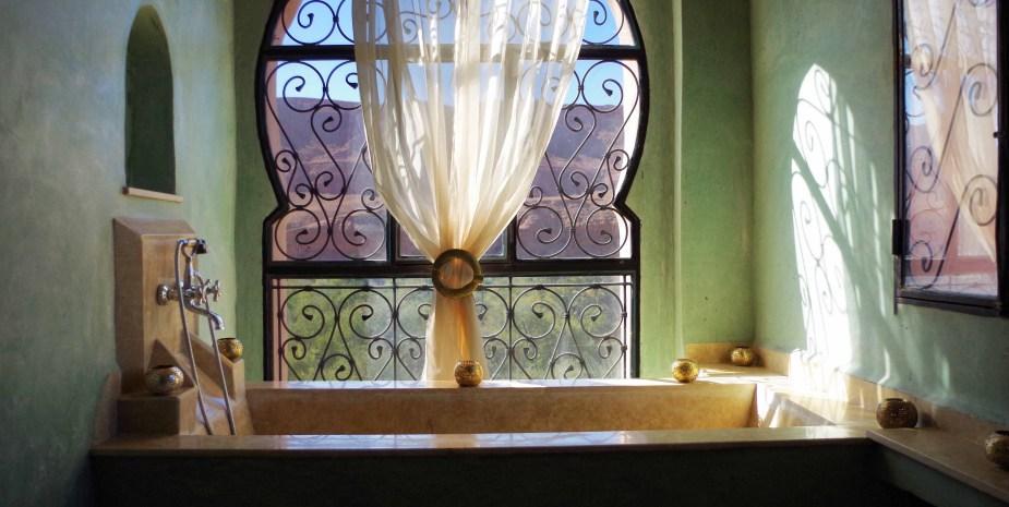salle de bain suite panoramique