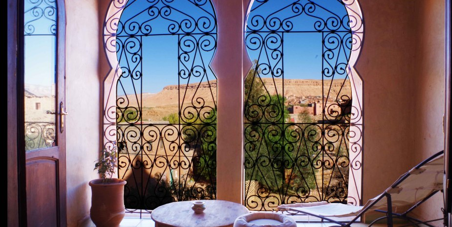 terrasse privée kasbah titrit
