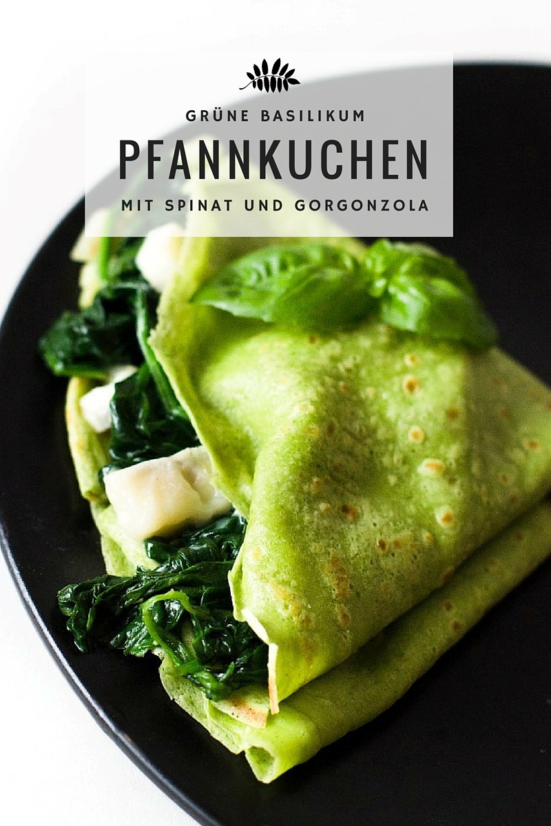 Basilikum-Grüne-Pfannkuchen-mit-Spinat und-Gorgonzolla-Rezept-18