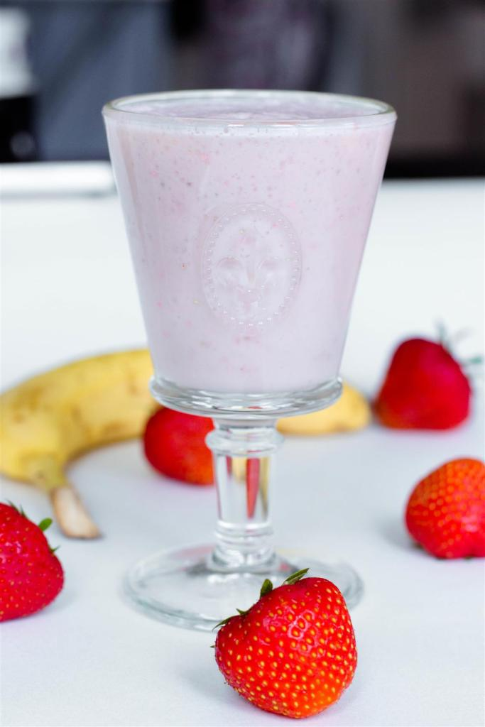 Bananen Erdbeer Shake