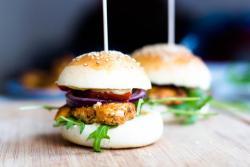 Chickenburger selber machen