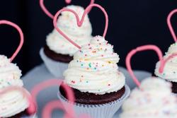 Cupcakes mit Herz