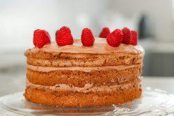 Nutella Torte mit Mascarpone