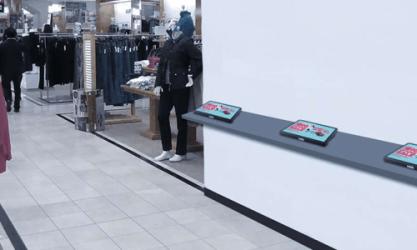 Kaser PoSer Device in Retail